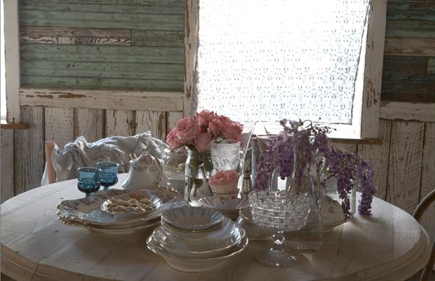 Table set for Breakfast at The Ranger's Lounge at The Prairie By RachelAshwell