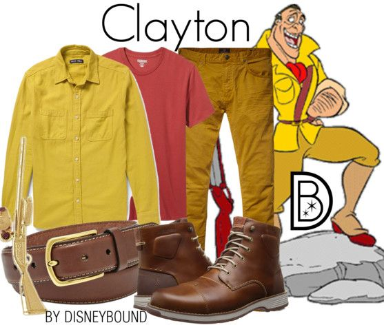 Clayton / Male DisneyBound