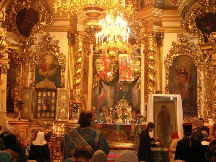 """Icoana Maicii Domnului """"a Sfântului Maxim"""" -Catedrala """"Adormirea Maicii Domnului"""" din Vladimir-Rusia"""