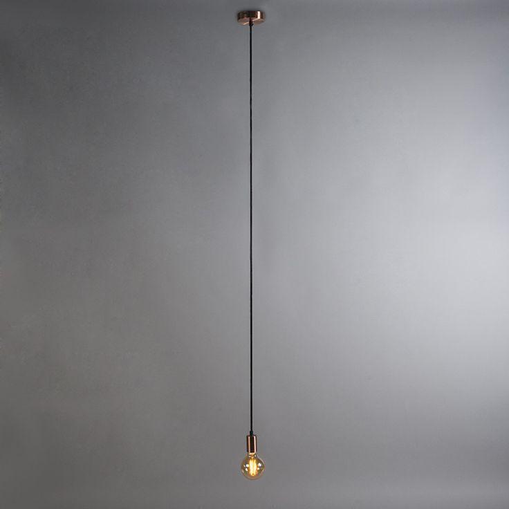 ZÁVĚSNÁ SVÍTIDLA | Závěsné svítidlo Cavo 1 Cooper | Svítidla pro Váš život... Svítidla Bachman