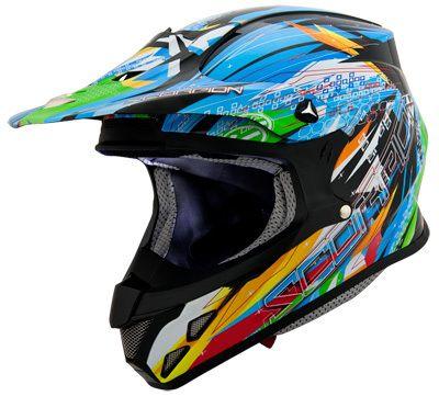 thehelmetman.com - Scorpion VX-R70 Fragment Black Off Road Helmet, $269.95 (http://thehelmetman.com/off-road-helmets/scorpion-vx-r70-fragment-black-off-road-helmet/)