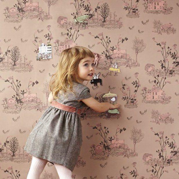 Magnetisk barntapet I Barnrum I Barntapeter I Barntapet I Kids room I Kids I Childrens wallpaper I Magnetic wallpaper I Engelska Tapetmagasinet I www.engelskatapetmagasinet.se