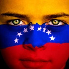Beautiful colors of the Venezuelan flag - Los hermosos colores de la bandera de Venezuela