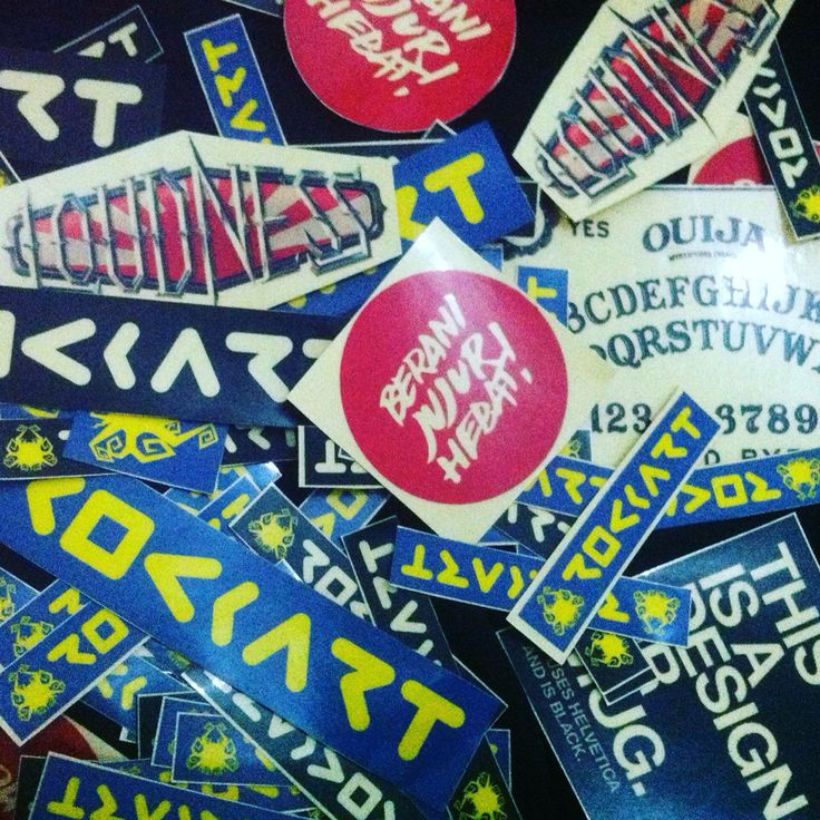 Kumpulan Stiker #Sticker #ouija #ouijaboard #beranijujurhebat #loudness #loudnessband #RockArt #17rockartdesign #indonesia #mockup #design #graphic #printing #artwork #notforsale #logo #mylogo #dimashardiansa