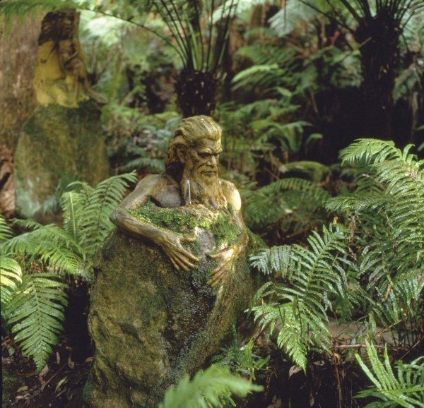 William Ricketts Sanctuary. Dandenongs, Victoria Australia