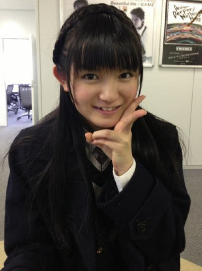 Sakura Gakuin さくら学院 Suzuka way to go! Can anyone recognise that jacket? =)