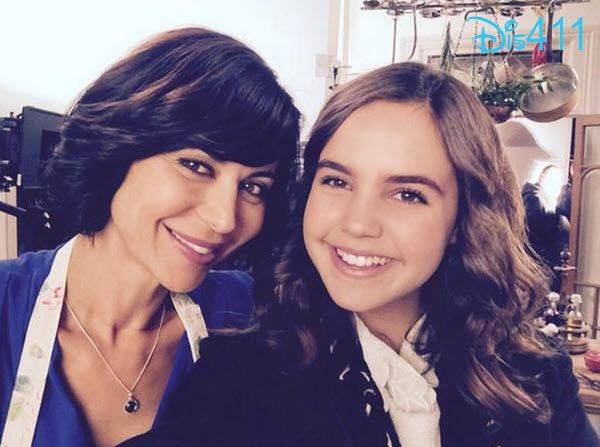 """Photos: First Day Of Filming """"The Good Witch"""" For Bailee Madison October 29, 2014"""