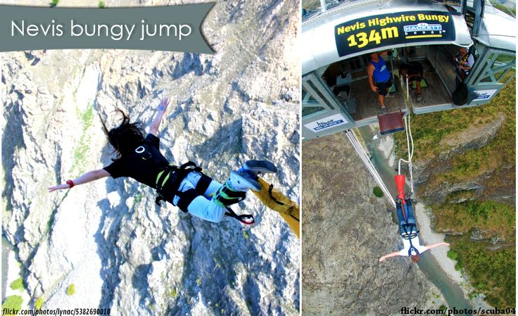 "Have you ever made your jump from the ""Nevis Highwire Platform bungee jump"" in #Queenstown, New Zealand?"