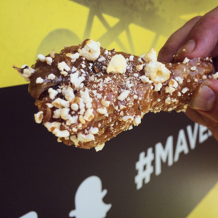 Maverick Wings® - A true decadence experience with our Salted Caramel Popcorn crispy Chicken Wings.