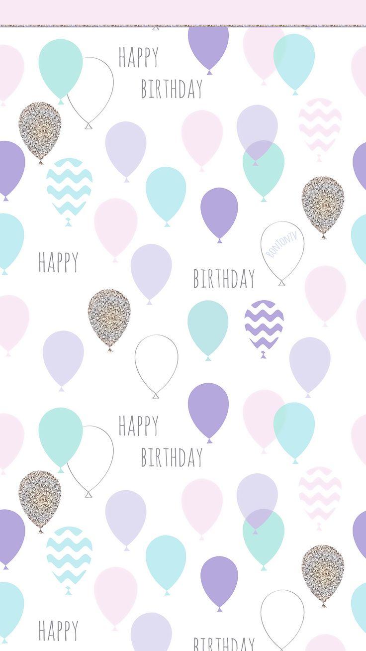Phone Wallpapers HD Happy Birthday Pastel by BonTon TV