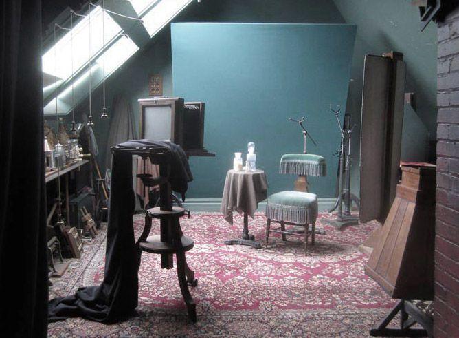 Figure 4: Reproduction 19th  century studio, Scully & Osterman Studio, Rochester, NY