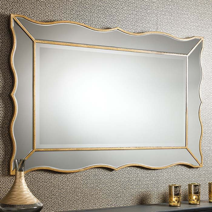 21 best gold mirrors images on pinterest gold mirrors for Gold frame floor mirror
