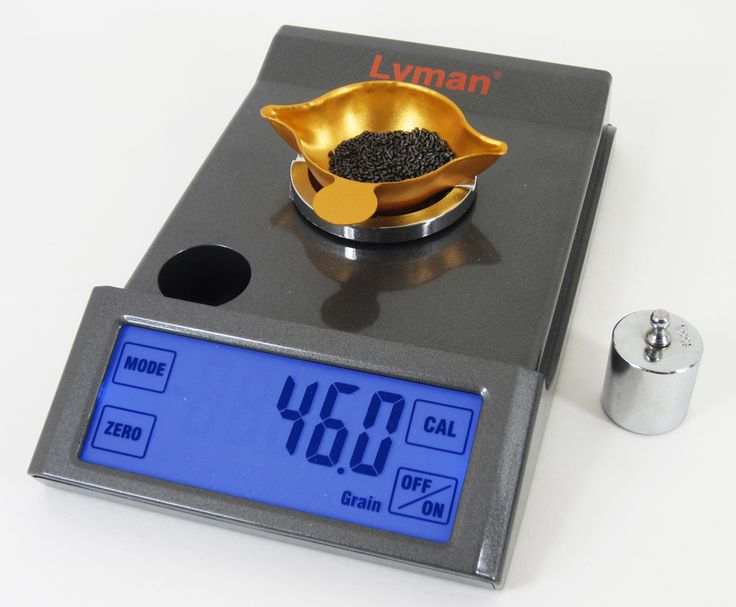The Easy-to-Read Pro-Touch 1500 Reloading Scale