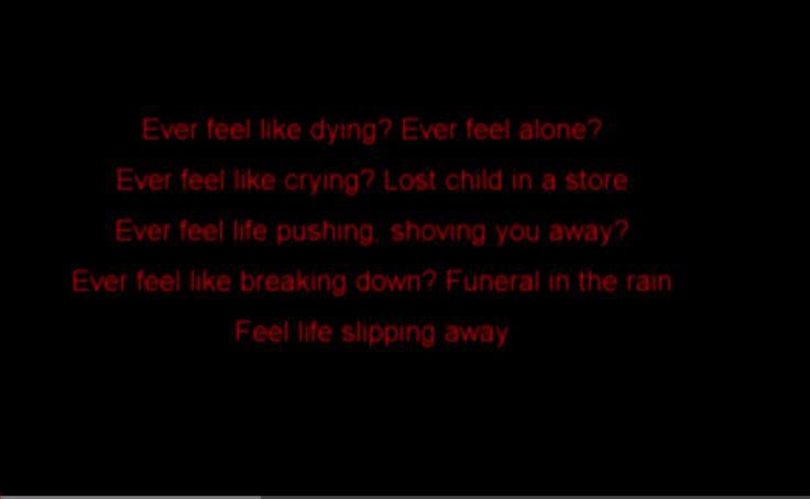 Scream with me. Mudvayne lyrics. My rage music. Don't look it up unless you like hard music.