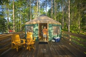 6 Surprising Places to Sleep at Georgia State Parks