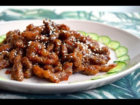 Crispy Chilli Beef \ VIDEO | Dumpling Sisters - I can't wait to make this!