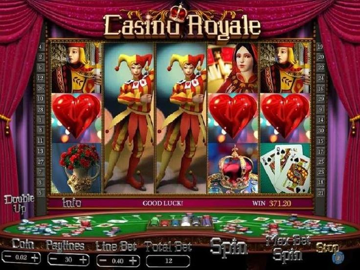 Welcome the In-game Symbols in a Grand Manner  Expect a grand production not just in theme but in the styling of the reels and the choice of symbols for this game. Online Casino Royale slot machine uses common yet grand symbols that will remind players of a grand casino and the high-life. http://free-slots-no-download.com/aristocrat/9883-casino-royale/