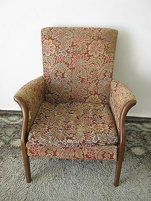 Vintage Parker Knoll Chair 749 1014 Armchair Fireside