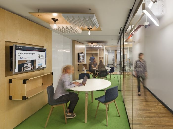 Wework offices coworking space by boa new york Coworking space design ideas