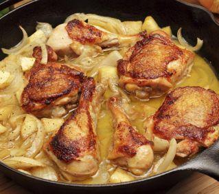 Le poulet au cidre est une recette faite pour découvrir le véritable goût de la Normandie !