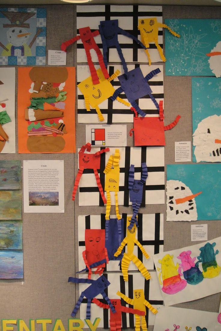36 best Piet Mondrian Art Lessons
