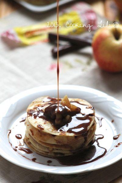 Gâteau de Crêpes Pommes & Carambar®