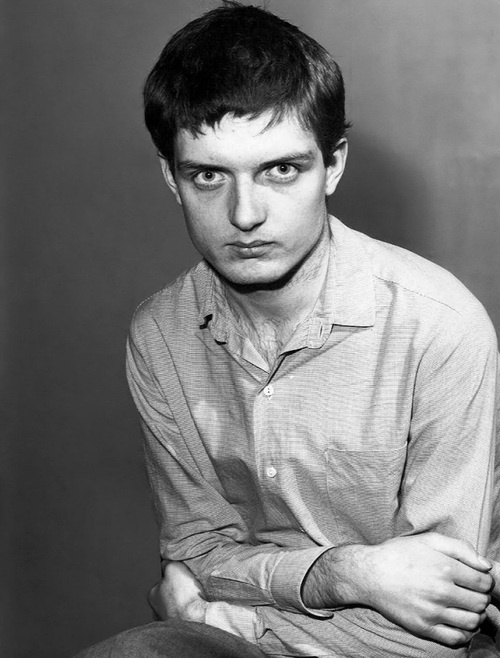Fan: Ian Curtis, A Tortured Soul Me: his stares will haunt you forever.