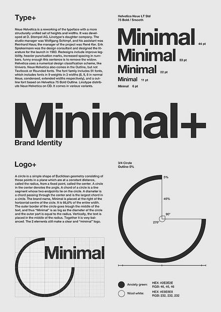 "Swiss Design / ""Minimal\"" Poster by Julian Kleyn"