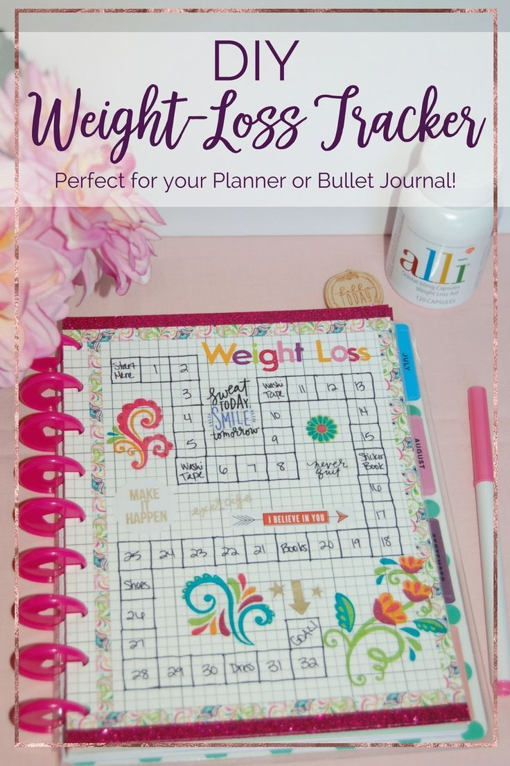 printable weight loss journal 5
