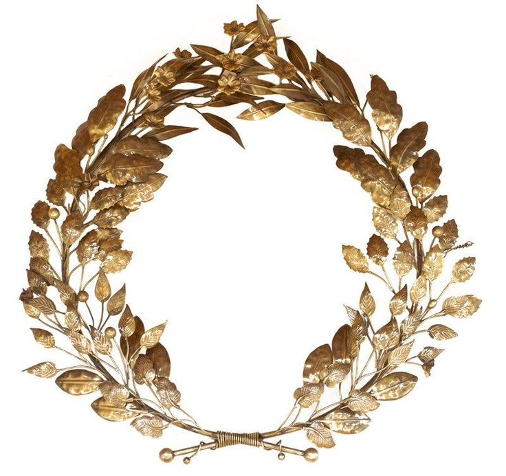 Bronze Wall Art Sculpture Bronze Mix Leaf Wreath Bronze Wall Art