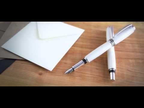 Poenari - Stilouri lucrate manual - YouTube
