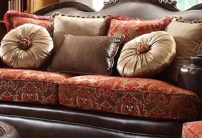 Victorian Luxury Rich Brown Leather