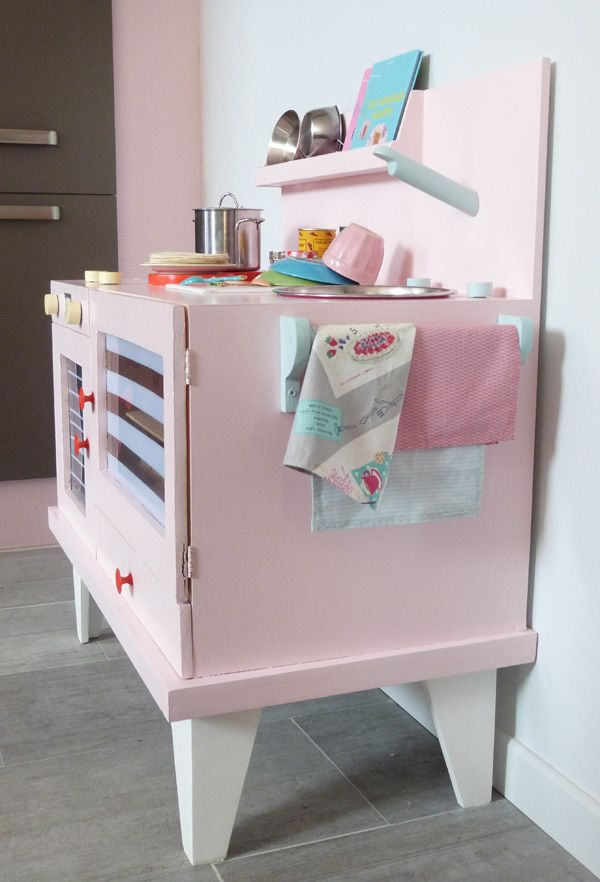 Best 68 diy play kitchen images on pinterest diy and crafts children play - Cuisiniere enfant ikea ...