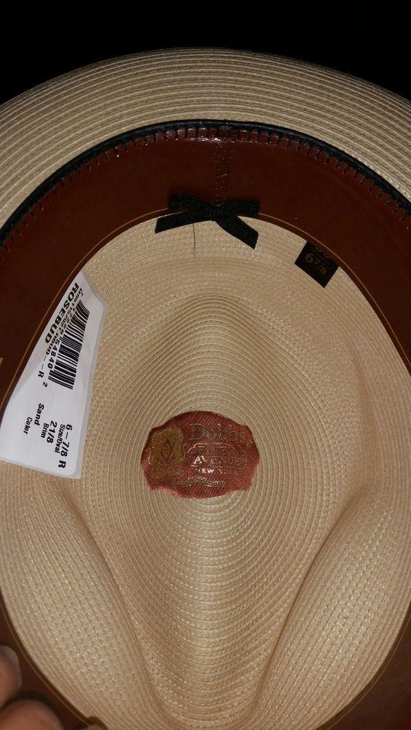 New DOBBS hat size 6 7/8