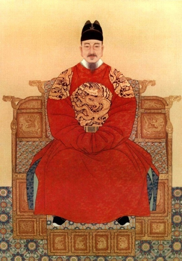 Sejong the Great (세종대왕, 世宗大王 in Korean),May 6, 1397 – May 18, 1450; r. 1418 - 1450, was the fourth ruler of the Joseon Dynasty of Korea, and a beloved Korean folk hero.