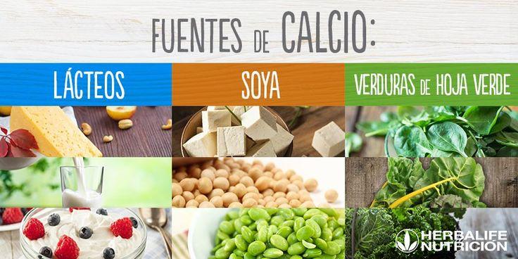 Planea tus comidas y cenas de la semana, no se te olvide incluir alimentos ricos en calcio