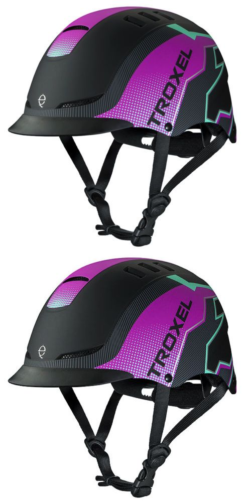 Riding Helmets 47269: Small Troxel Dialfit Low Profile Matte Finish Horse Riding Helmet Pink Riot -> BUY IT NOW ONLY: $69.95 on eBay!