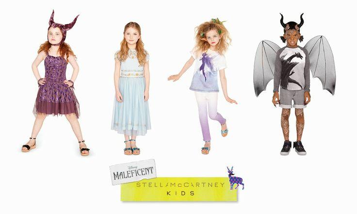 """In previsione dell'uscita mondiale del nuovo film """"Maleficent"""", la sitilista americana Stella McCartney ha collaborato con Disney e Angelina..."""