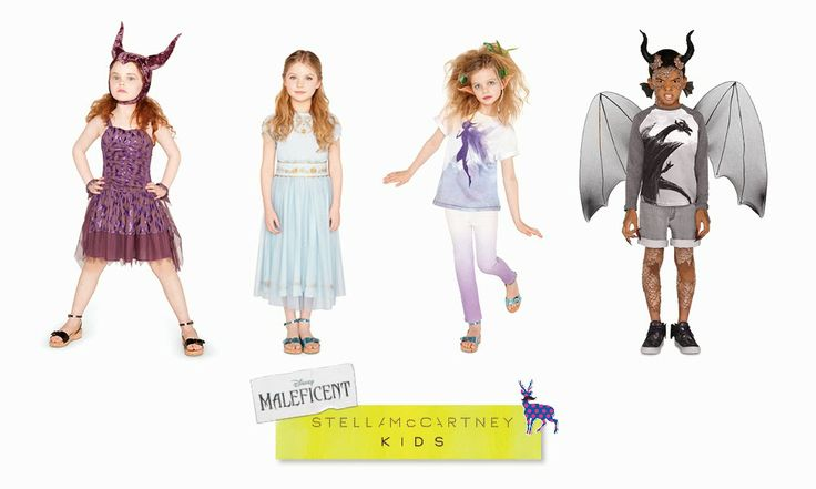 "In previsione dell'uscita mondiale del nuovo film ""Maleficent"", la sitilista americana Stella McCartney ha collaborato con Disney e Angelina..."
