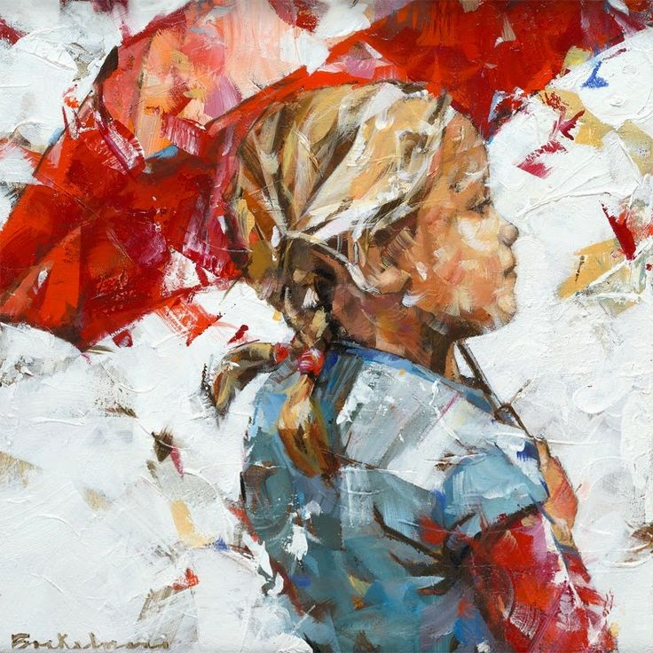 Dorus Brekelmans, 1972 ~ Figurative Palette Knife painter | Tutt'Art  #UrbanArtDistrict favorite!