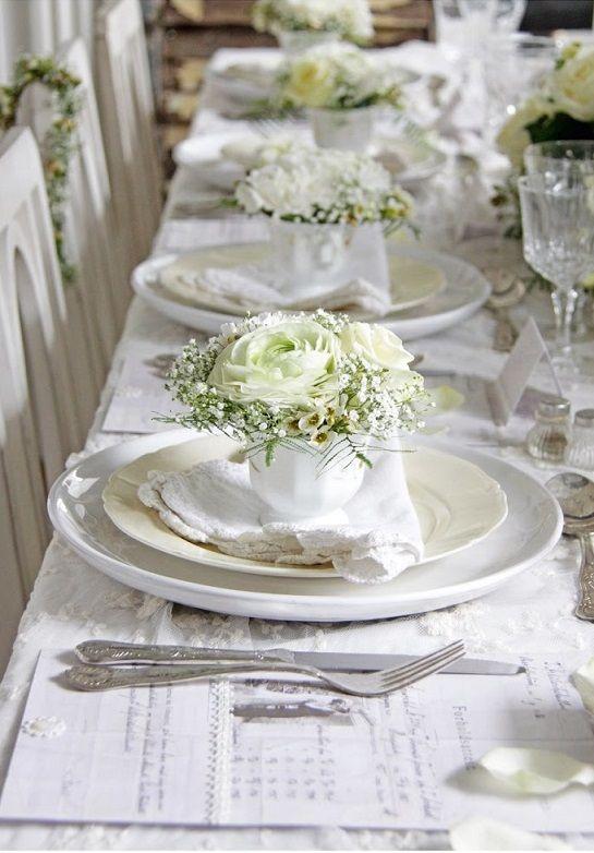 Jolie table  La table est prête, elle est sublime !  Pinterest ...