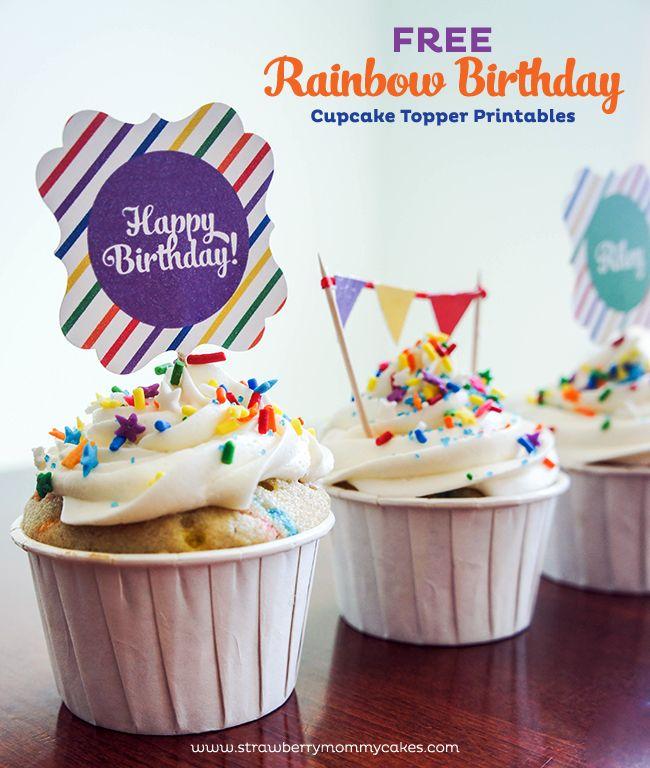 15 free birthday printables Party Ideas Birthday Cupcakes