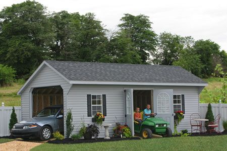 Sheds Unlimited Inc: Prefab Garage Packages from Sheds Unlimited ...