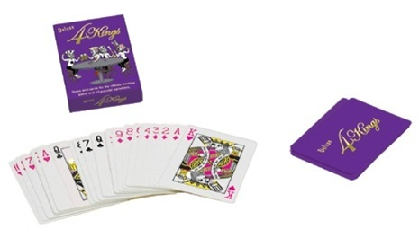 Not sure how to play but totally getting this! 4 Kings Card Game #4kings