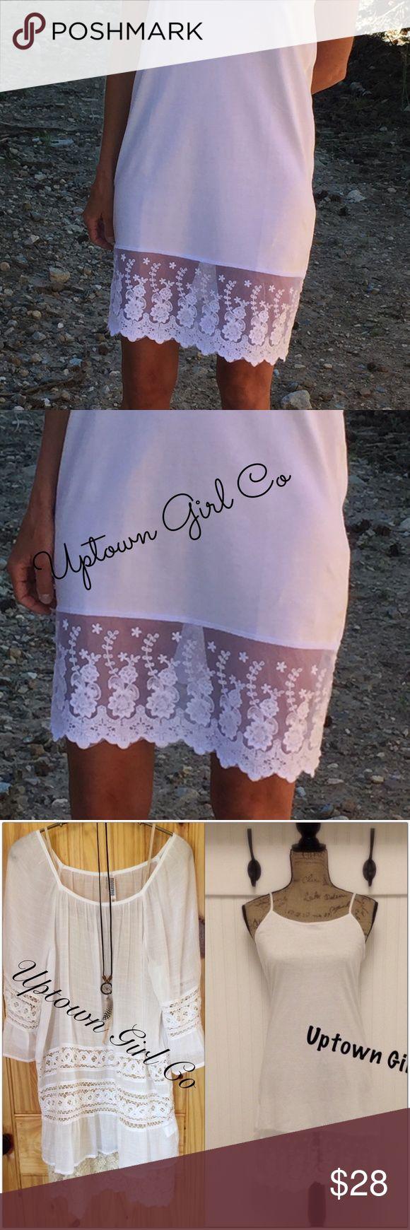 Wholesale lace shirt extender - Dress Extender Lace Extender Shirt Extender Boutique