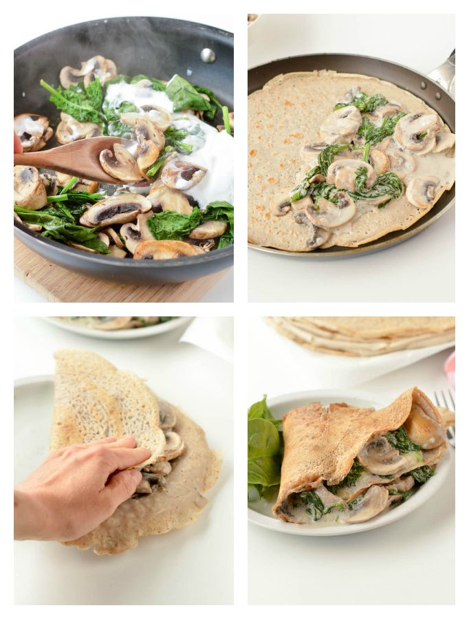 French Buckwheat Crepes Are Gluten Free Savory Crepes Made Of 100 Buckwheat Flour Water Egg And Salt Buckwheat Crepes Crepe Recipe Savory Buckwheat Recipes