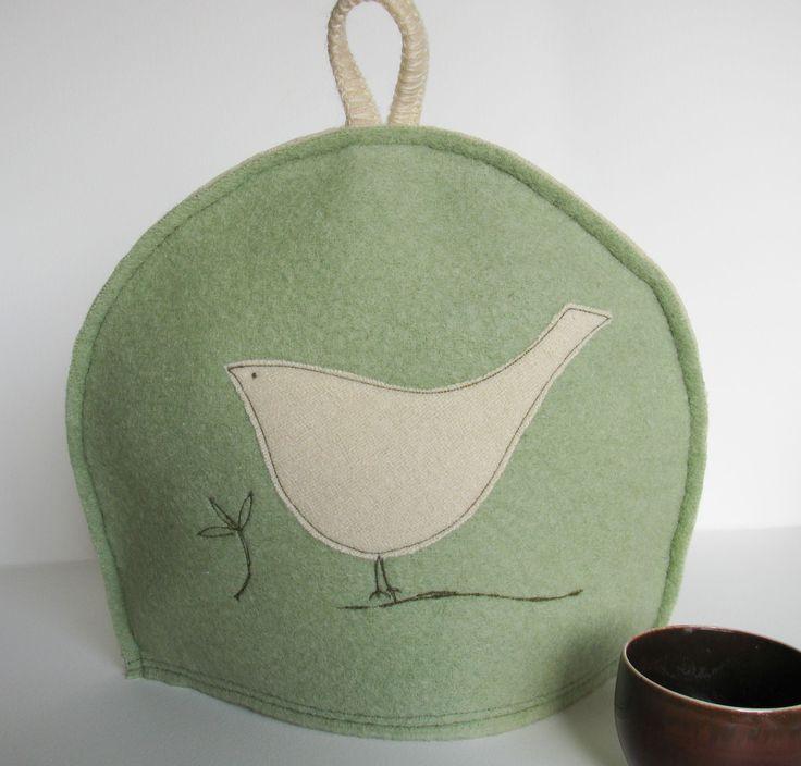 Bird tea cosy