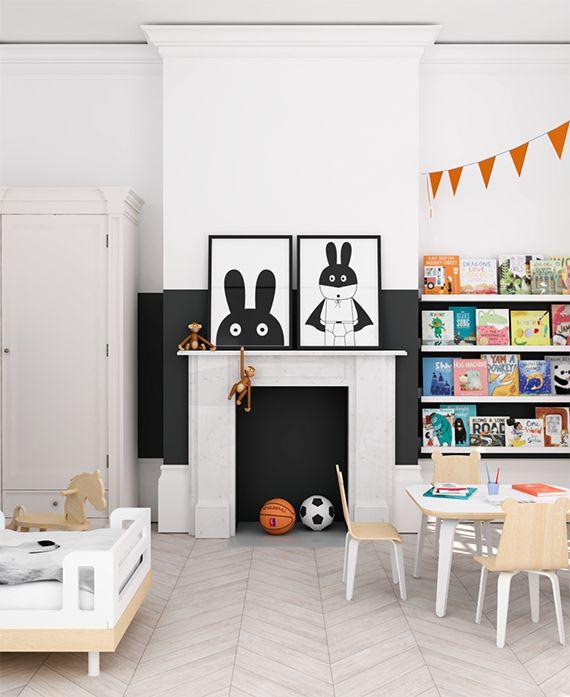 Orange Kids Room: Eclectic Kids Room Design + A Giveaway