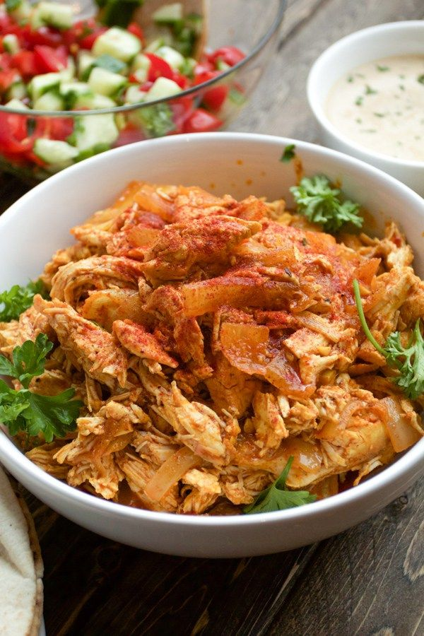 Oven Roasted Chicken Shawarma- Is a traditional middle eastern dish that you can make at home in your oven.