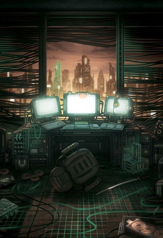 17 Best Images About Cyberpunk City On Pinterest